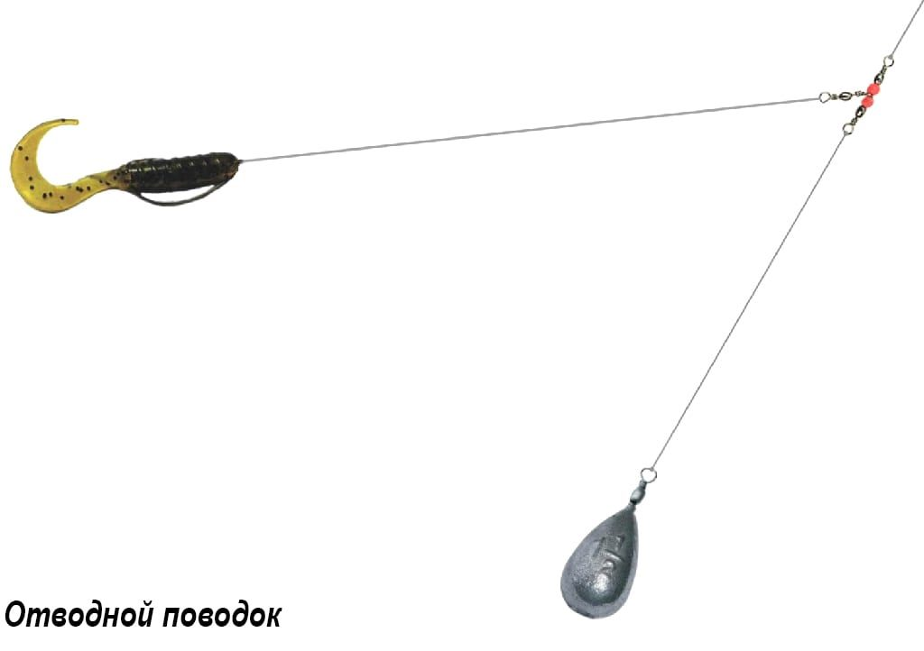 Ловля на отводной поводок для спиннинга: правильный монтаж
