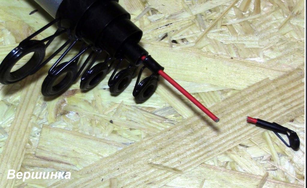 Ремонт спиннинга своими руками - пошаговая инструкция